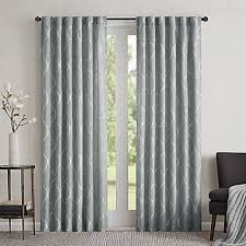 Curtains 95 Inches Length Regency Heights Lexi 95 Inch Rod Pocket Window Curtain Panel In