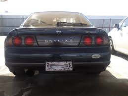 1994 nissan skyline r33 gtst sedan boostcruising