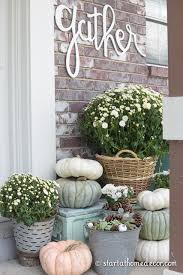 Fall Decorated Porches - best 25 fall front porches ideas on pinterest fall porch