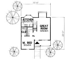 country style house plan 3 beds 2 00 baths 954 sq ft plan 50 235