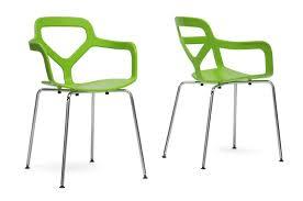 Modern Dining Room Sets Miami Baxton Studio Miami Green Plastic Modern Dining Chair 53