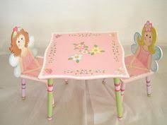 little girls table and chair set kids activity table chair desk storage playroom wooden toy