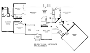 dual master suite home plans 27 top photos ideas for dual master suite house plans home plans
