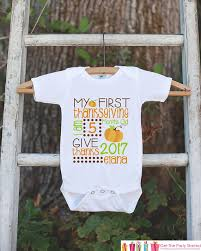 thanksgiving baby newborn infant onepiece or