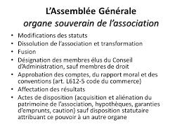 renouvellement du bureau d une association loi 1901 l association loi 1901 les statuts ppt télécharger