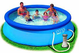 Garten Pool Aufblasbar Intex Aufstellpool Easy Set Pools Blau ø 305 X 76 Cm Amazon De