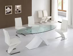 modern glass dining room table glass dining table and chairs round
