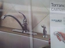 moen torrance kitchen faucet moen kitchen chrome centerset home faucets ebay