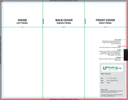 brochure templates photoshop tri fold brochure template setup how