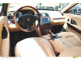 maserati quattroporte interior beige interior 2006 maserati quattroporte standard quattroporte