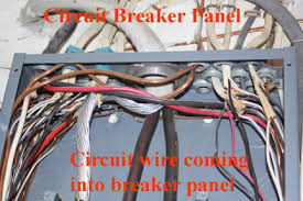 home electrical wiring circuit breaker panel
