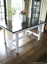ikea farmhouse table hack ikea farmhouse table dukeshead co