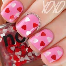 35 cute valentine u0027s day nail art designs page 3 of 3 stayglam