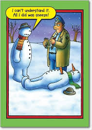 frosty snowman funny christmas pictures dump