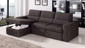 amazon com black brown clubber sleeper sectional sofa right