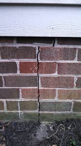 i have a in the brick veneer of the exterior foundation wall