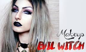 Evil Doll Halloween Makeup by