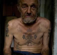 as tatuagens da mafia russa arte no corpo