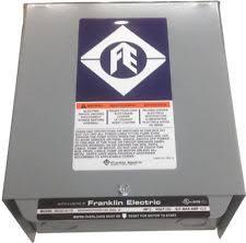 franklin electric control box ebay