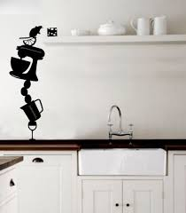Kitchen Wall Pictures For Decoration 53 Best Funky Kitchen Wall Stickers Images On Pinterest Funky