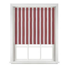 Thermal Blackout Blinds Sunlover Thermal Blackout Red Striped Roller Blinds Direct