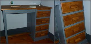 relooker un bureau en bois bureau mathis brocante et patine