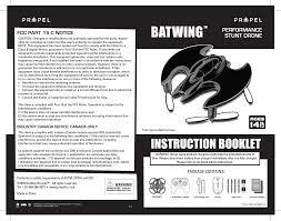 wb4010r batwing performance stunt drone user manual c42 mini