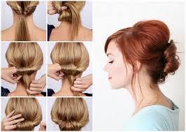 Hochsteckfrisuren Selber Machen F Kurze Haare by 22 Einfache Frisuren Selber Machen Bob Frisuren