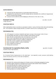 Inbound Sales Resume Examples Of Australian Resumes Resume For Your Job Application
