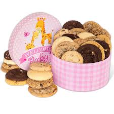 cookie gift boxes welcome baby girl cookie gift box by cheesecake