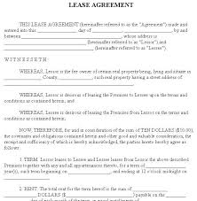 sample pasture lease agreement simple pasture lease agreement
