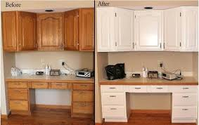 How To Paint Oak Kitchen Cabinets Painting Oak Kitchen Cabinets White Faced