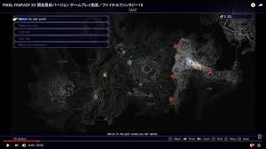 Final Fantasy World Map by Full Map And Revealed Map Final Fantasy Xv Message Board For