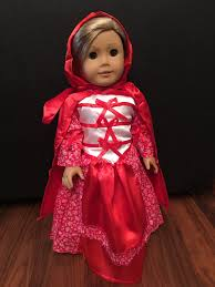 for 18 american doll clothes little red riding hood halloween
