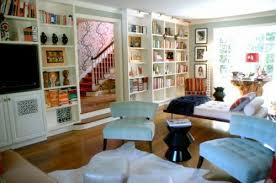 bibliothek wohnzimmer coole ideen für haus bibliothek anordnung einrichtungslösungen