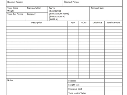 transport bill sample and definition proforma invoice invoice