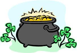 green pot of gold clipart clipartfest