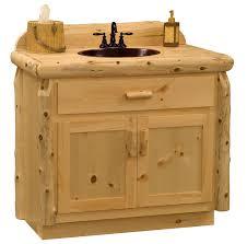 Bathroom Vanities Wholesale Pine Log Bathroom Vanity Wholesale Log Vanity Minnesota Rustic