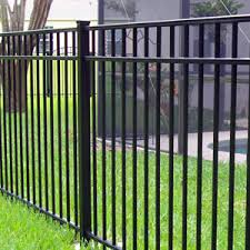 cost of aluminum fence crafts home