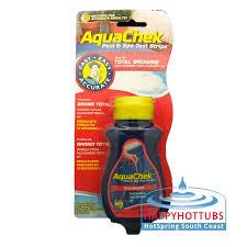 aquachek 4 way bromine test strips test strips happy hot tubs