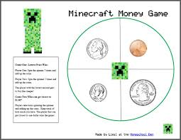 free coin counting money activities homeschool den