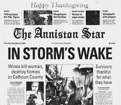 november 23 24 2004 a destructive lead up to thanksgiving the