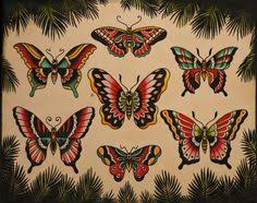sailor jerry butterflies sailor jerry studio and sailor