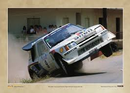 peugeot 205 rally peugeot 205 t16 e2 poster rallywebshop rallywebshop