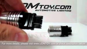 high power switchback 3157 led turn signal light bulbs on 2012