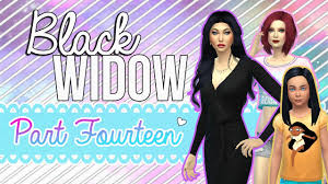 Challenge Victim Lets Play The Sims 4 Black Widow Challenge Episode 14 Getting