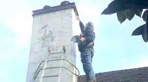 elastomeric coating over stucco chimney repair crown flashing drip