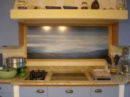 trompe l oeil cuisine tableau décoratif pour crédence de cuisine at artiste peintre