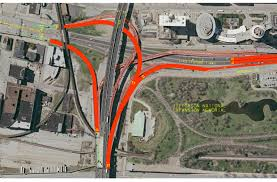Modot Road Conditions Map Poplar Street Ramp Project