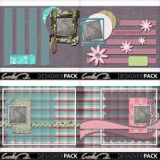 8x11 photo album digital scrapbooking kits friendship 8x11 album 3 carolnb